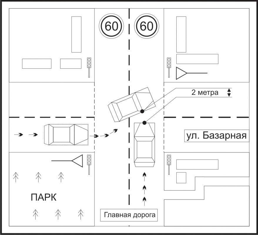 в дорожно-транспортное